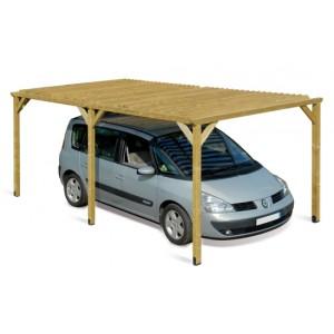 Carport en bois Dolce Vita - 2.68 x 5.05 m