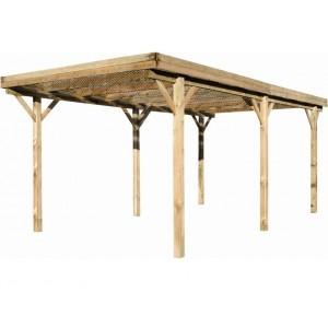 Carport en bois Etna Uno - 3.04 x 5.10 m