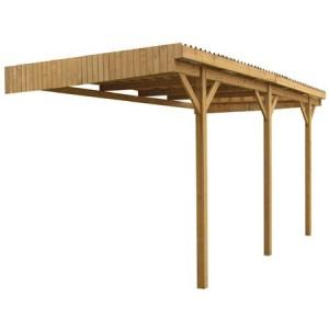 Carport en bois Mezzo 11 - 5.00 x 3.00 m