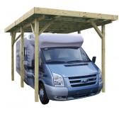 Carport en bois pour camping car - 3.40 x 7.60 m - 25.84 m²