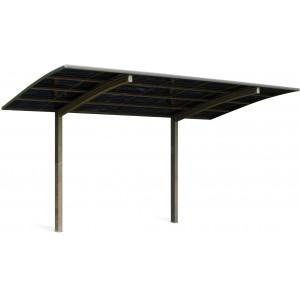 Carport en métal Delta - 5.07 x 2.67 m - 13.54 m²