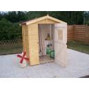 Abri e jardin en panneaux 16 mm 1,92m² (Montage disponible)
