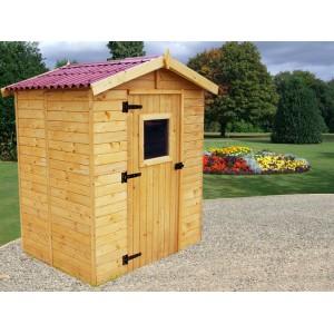 Abri de jardin en panneaux 16 mm 2,56 m² (montage disponible)