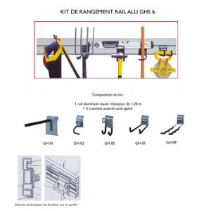 kit rangement outils pour abri de jardin. Black Bedroom Furniture Sets. Home Design Ideas