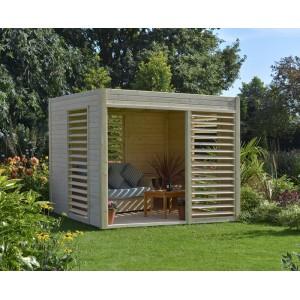 Abri de jardin ARTY en bois - 6.55 m2