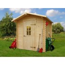 Abri de jardin HALLE en bois 4.32 m2 Ep. 19 mm