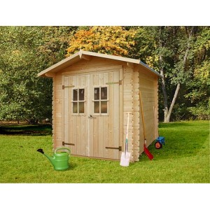 Abri de jardin en bois LOLLAND 4.32 m2 Ep 19 mm