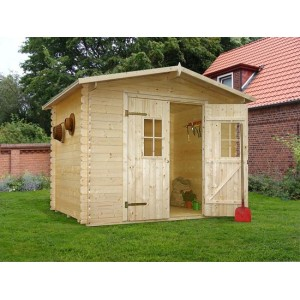 Abri de jardin en bois Heidelberg 7.18 m2