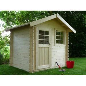 Abri de jardin en bois LAVAL 4.71 m2- Ep. 28 mm