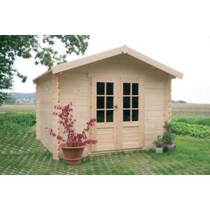 Abri de jardin en bois CHOLET 4.71 Ep. 28 mm