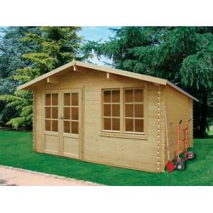 Grande cabane de jardin bois VISP 16.2 m2