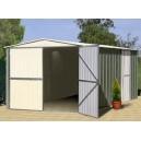 Garage métal TRECO 10x17 Colorbond (3,07 x 5,26 x 2,03m)