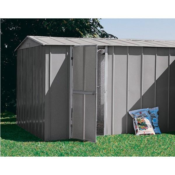 Garage m tal treco 10x17 colorbond 3 07 x 5 26 x 2 03m for Photo garage 94