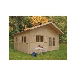 Grand abri de jardin en bois WEEKEND 25.8 m2