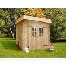 Abri jardin en bois moderne