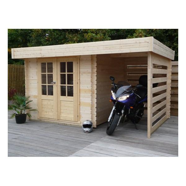Best abri de jardin toit plat avec bucher photos design - Abris de jardin avec bucher ...