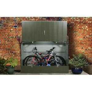 Abri pour vélo CycloProtect Couleur Vert Bicolore