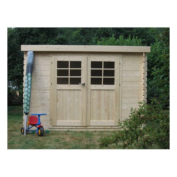 D co cabane jardin toit plat 21 paris cabane jardin for Abri de jardin bois pas cher toit plat