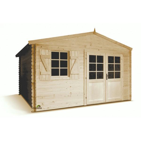 Abri de jardin lagor bois emboit m2 for Vendo caseta jardin