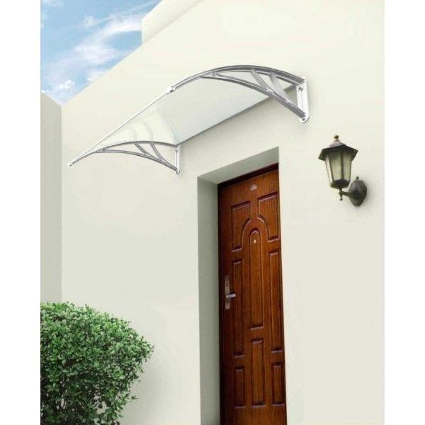 auvent contemporain dallas ch ssis blanc votre abri de. Black Bedroom Furniture Sets. Home Design Ideas