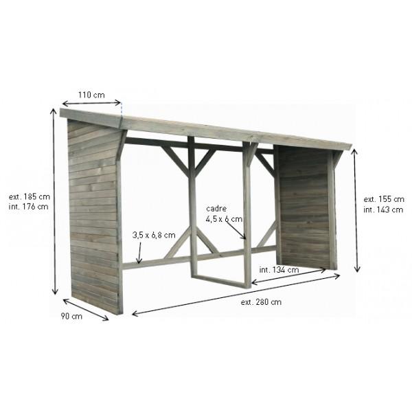 abri b ches 5 st res votre abri de. Black Bedroom Furniture Sets. Home Design Ideas