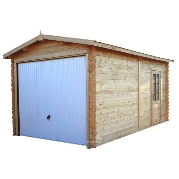 garage bois panneaux 28 mm x x m m. Black Bedroom Furniture Sets. Home Design Ideas